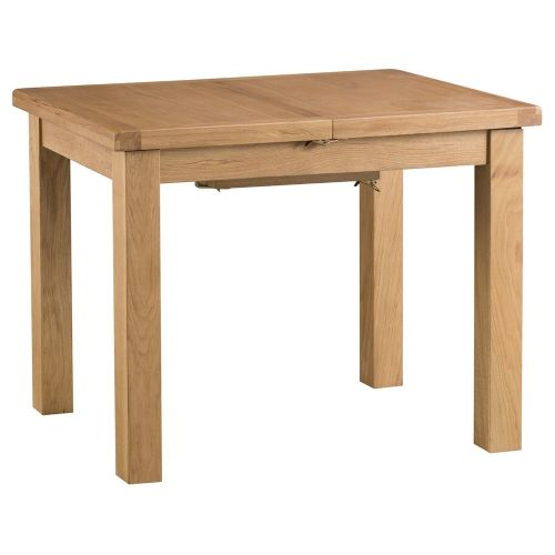Oakham Country 1m Butterfly Extending Table with Metal Runner